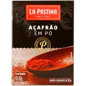 Açafrão Espanho LA PASTINA em pó 0,4g