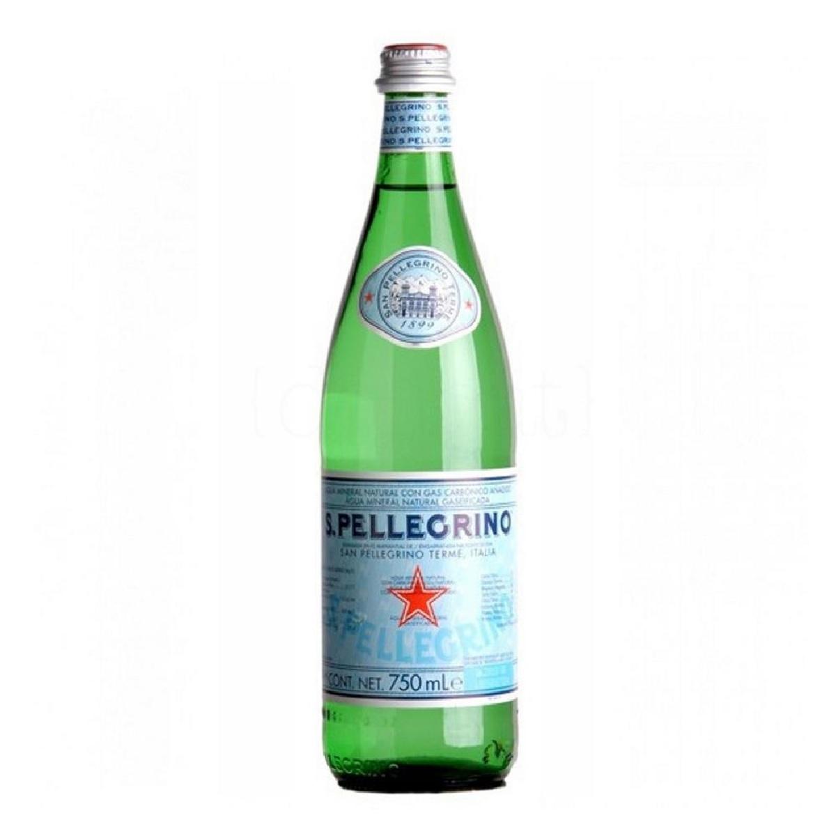 Água Mineral Com Gás Italiana SAN PELLEGRINO 750ml
