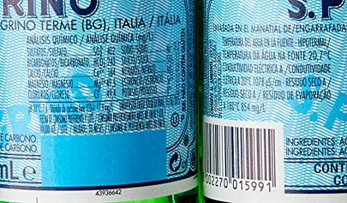 Água Mineral Italiana SAN PELLEGRINO 250ml