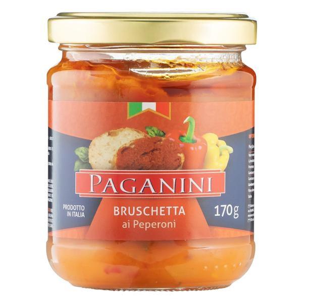 Antepasto Bruschetta Peperoni PAGANINI 170g
