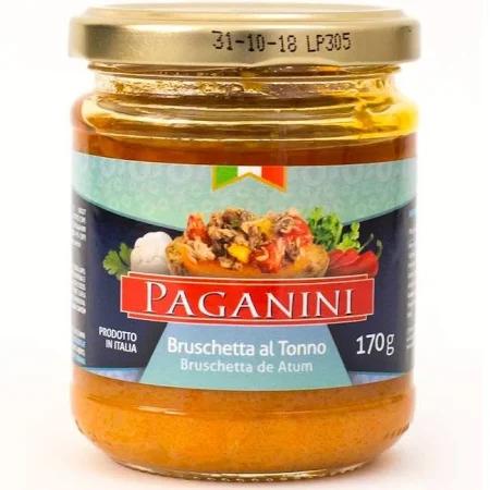 Antepasto PAGANINI Bruschetta Atum 170g