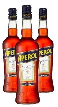 Aperitivo Aperol 750ml ( 3 garrafas )