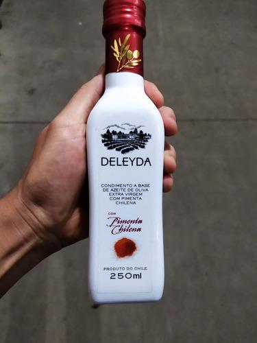 Azeite Extra Virgem com Pimenta Chileno DELEYDA 250ml