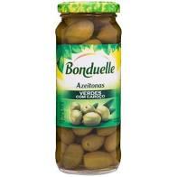 Azeitona BONDUELLE Verde com Caroço 320g