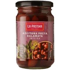 Azeitona Chilena Preta Kalamata LA PASTINA 216g