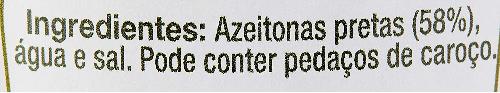 Azeitona Preta Kalamata COLAVITA 2900g