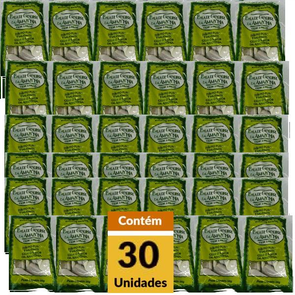 Bala de Gengibre BALA DA AMAZÔNIA 35g Pacote 30 Unidades