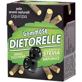 Bala de goma Vegana DIETORELLE Alcacuz 40g