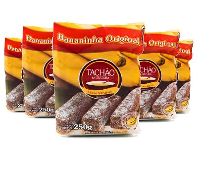 Bananinha Original TACHÃO DE UBATUBA 250g ( 5 und )