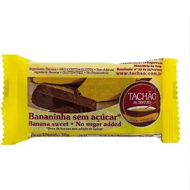 Bananinha Sem Açucar TACHÃO Display 24x30g