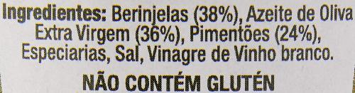 Berinjela e Pimentão COLAVITA 2800g