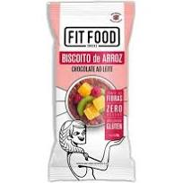 Biscoito de Arroz Chocolate ao Leite FIT FOOD 60g