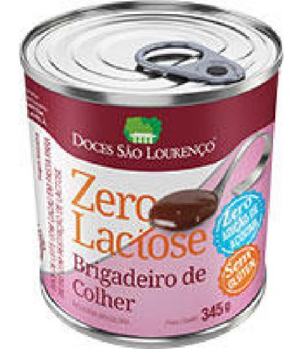Brigadeiro de Colher Zero/Zero SÃO LOURENÇO 345g