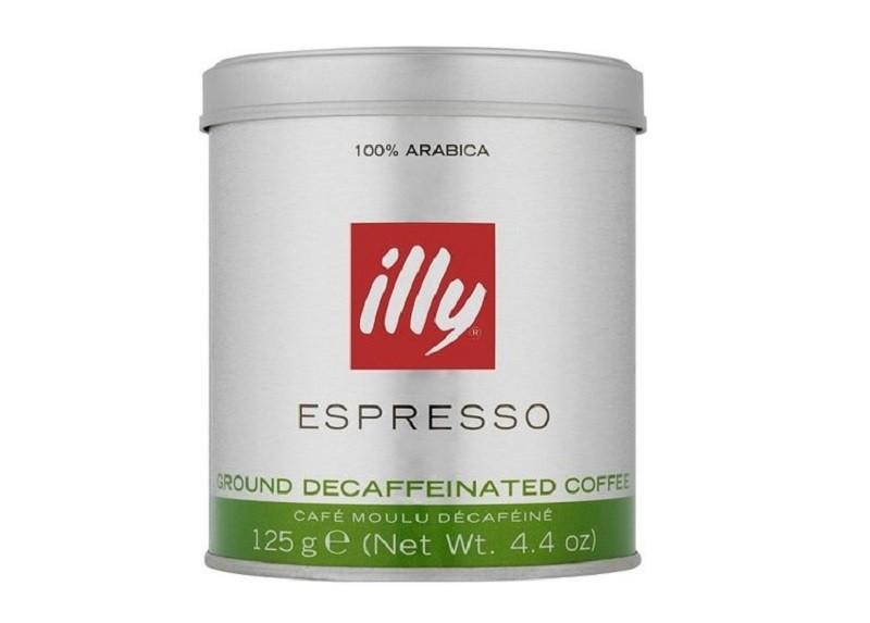 Café em Pó Expresso Descafeinado ILLY 125g