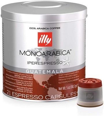 Café Illy Cápsula iperEspresso 21 und Guatemala 140,7g