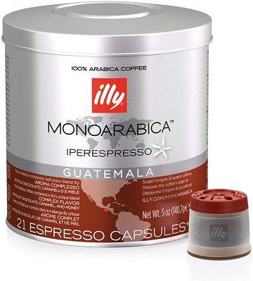 Café Illy Guatemala 21 Cápsulas 140,7g