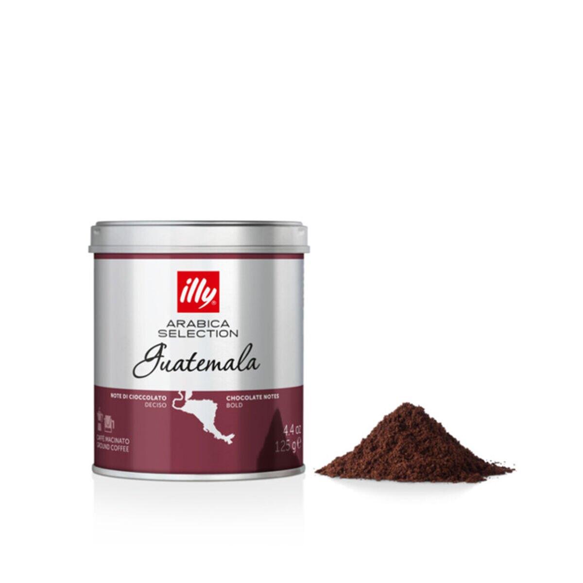 Café Illy Moído Arábica Selection Guatemala 125g  (3 und)