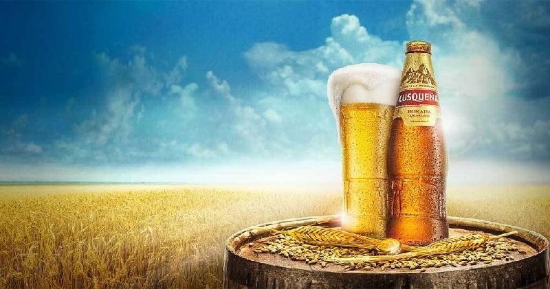 Cerveja CUSQUENA Golden Lager 330ml  24 Unidades