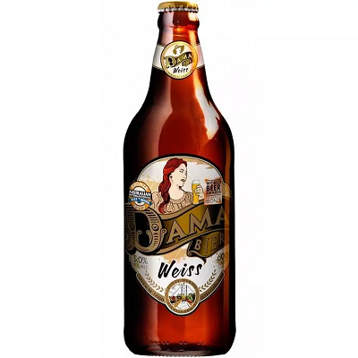 Cerveja DAMA Bier Weiss 600ml