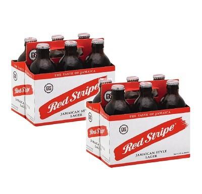 Cerveja Jamaicana RED STRIPE Lager 330ml (12 unidades)
