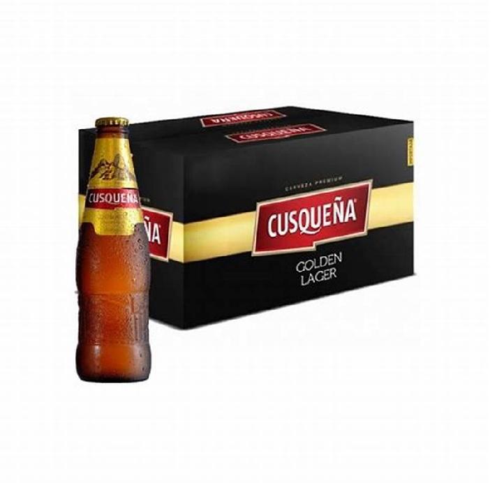 Cerveja Peruana CUSQUENA 330ml (24 und)