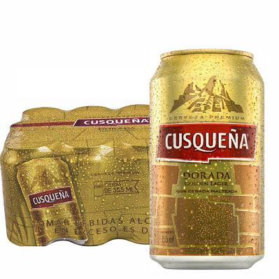Cerveja Peruana Premium Cusqueña 355ml ( 12 unidades )