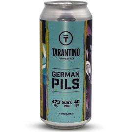 Cerveja TARANTINO German PILSEN Lata 473ml