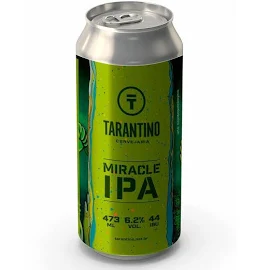 Cerveja TARANTINO Miracle IPA Lata 473ml