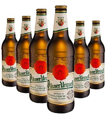 Cerveja Tcheca PILSNER URQUELL 500ml ( 6 unidades )