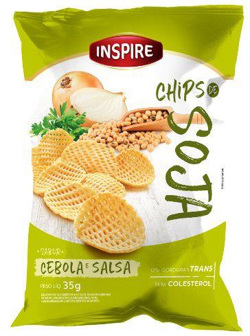 Chips de Soja INSPIRE Cebola Salsa 35g