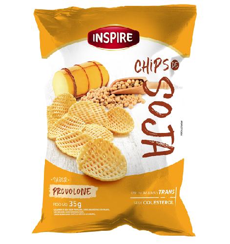 Chips de Soja INSPIRE Provolone 35g