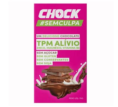 Chocolate ao Leite TPM Alivio CHOCK 75g