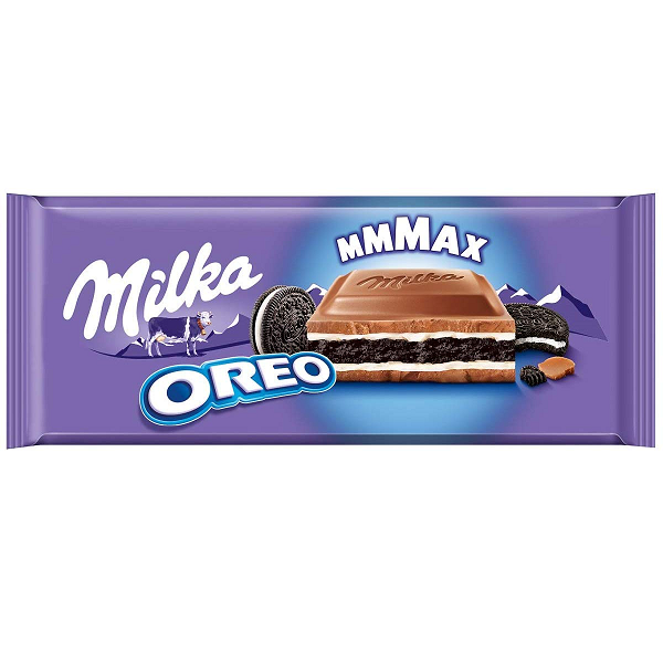 Chocolate MILKA Oreo Barra Grande 300g
