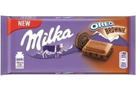 Chocolate MILKA Oreo Brownie 100g