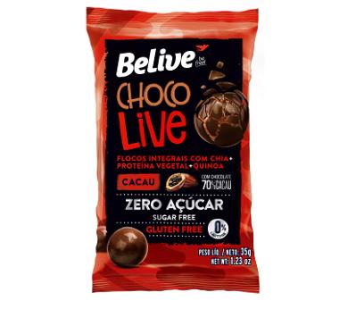 ChocoLive BELIVE 70% Cacau 12x35g