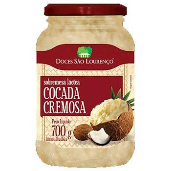 Cocada Pura SÃO LOURENÇO 700g