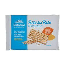 Cracker RISOsuRISO Sofiato  Italiano  380g