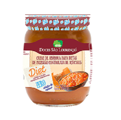 Doce Abobora Coco Diet SÃO LOURENÇO 210g