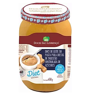 Doce de Leite Diet SÃO LOURENÇO 650g