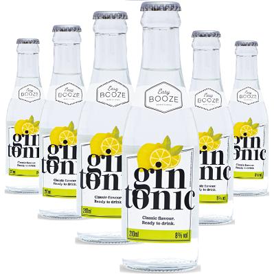 Easy Booze Gin Tônica 200ml ( 6 unidades )