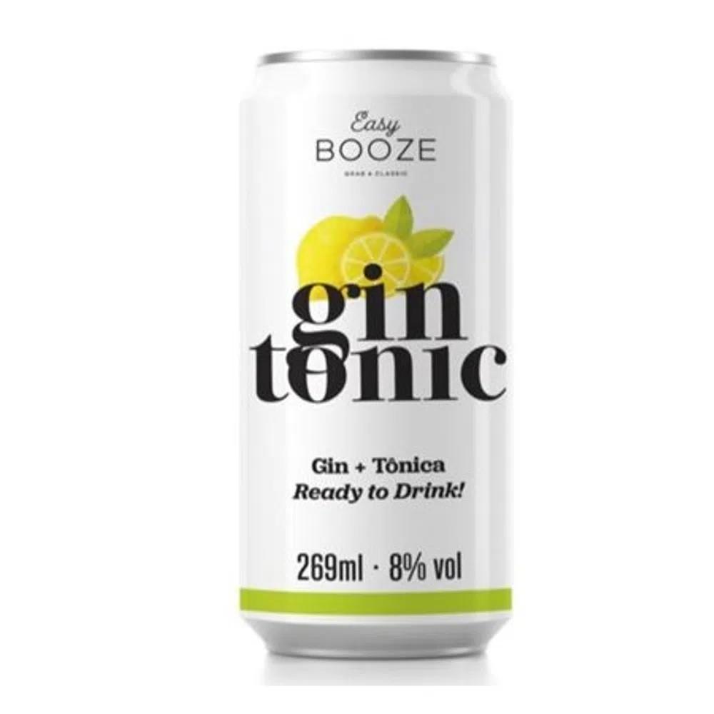 EASY BOOZE Lata Gin+Tônica 269ML