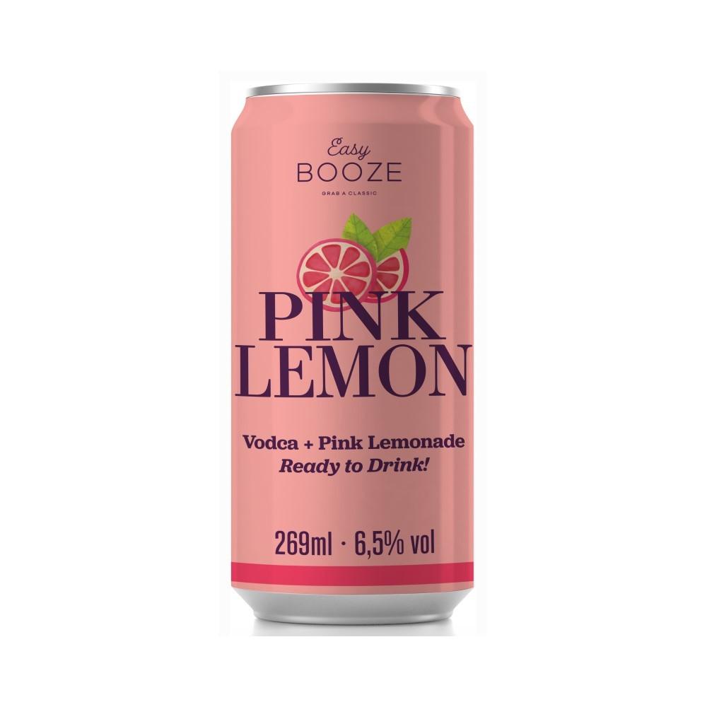 EASY BOOZE Lata Vodka+Pink Lemon 269ML