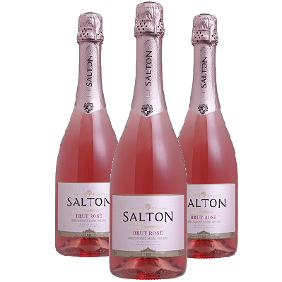 Espumante Brut Rosé SALTON 750ml ( 3 garrafas )