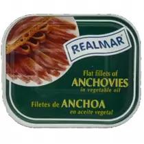 Filet de Anchova Espanhola REALMAR Óleo de Girassol 720g
