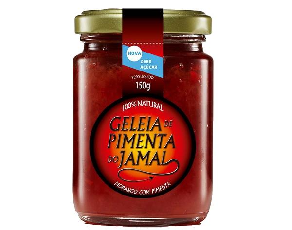 Geleia de Pimenta com Morango JAMAL 150g