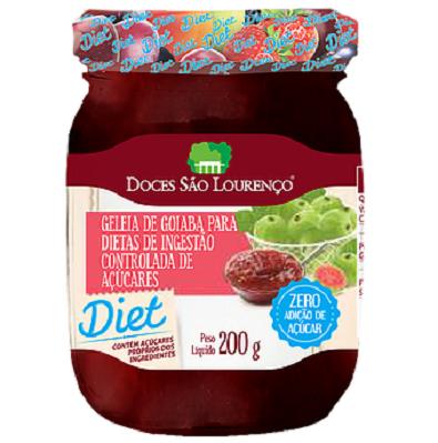 Geleia Diet de Goiaba SÃO LOURENÇO 200g