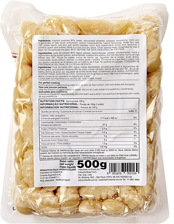 Gnocchi Pré Cozido COLAVITA 500g
