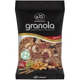 Granola Premium WS NATURAIS 500g