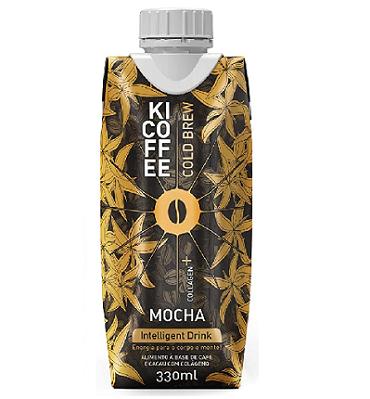 KICOFFEE Colágeno Mocha 330ml