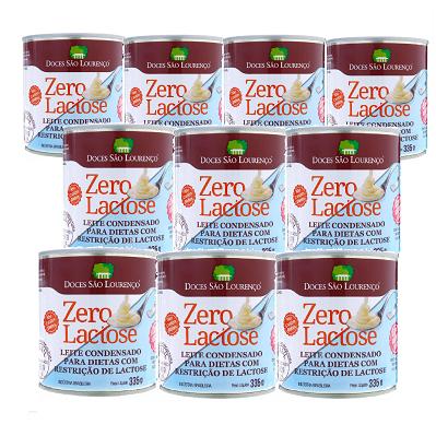 Kit 10 und Leite Condensado Zero Lactose Zero Açucar 335g